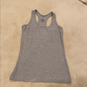 The North Face grey tank top